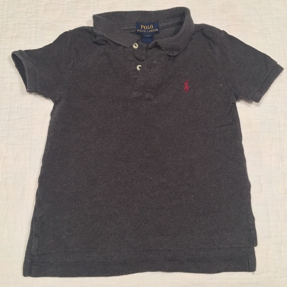 810f2f6c Polo by Ralph Lauren Shirts & Tops | Polo Ralph Lauren Dark Grey Ss ...